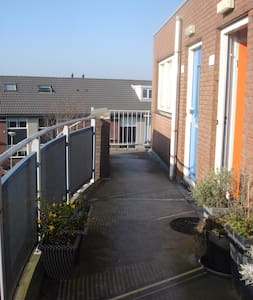 Cosy appartment near sea and city - Uitgeest - Daire