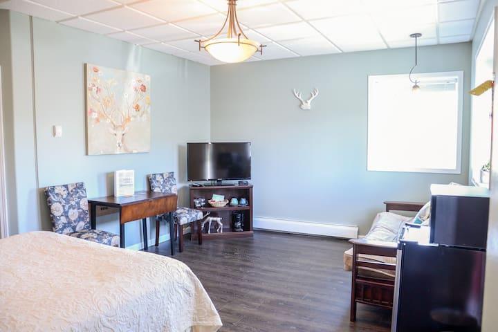 Queen Room with Futon - Room 1