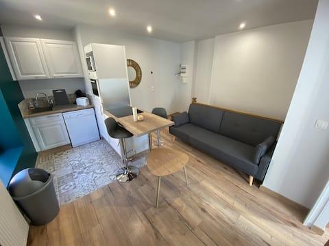 Appartement privé et moderne, proche CNPE
