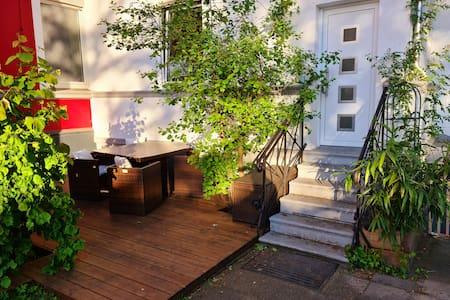 Eigene Terrasse & Wasserbett ruhig&gemütlich
