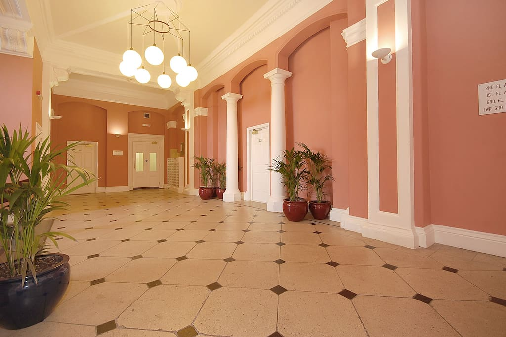 Welcome to the grand entrance hall