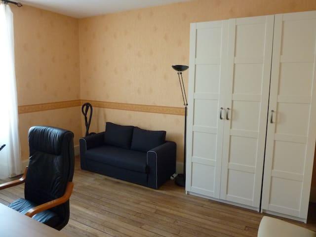 Chambre dans grand T3 5min gare - Digione - Appartamento