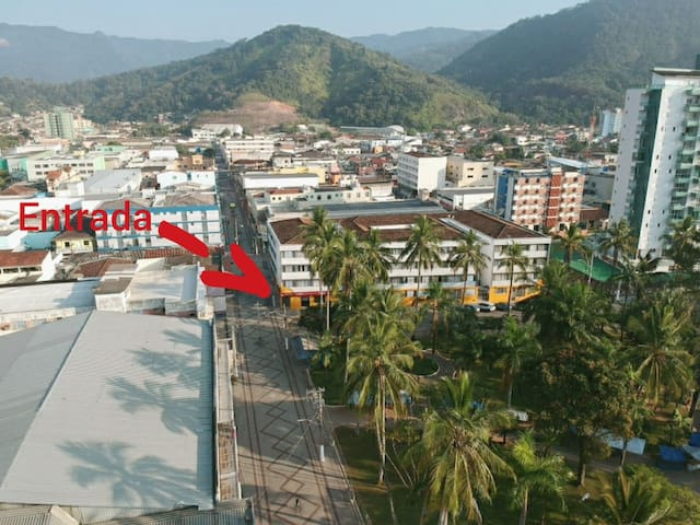 Apartamento no CENTRO de Caraguatatuba.