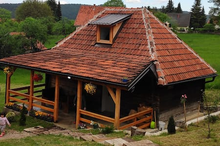 Traditional wooden house, comfortable and warm