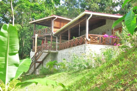 Luxious vacationhaus with a seeview - Castries City - Dom