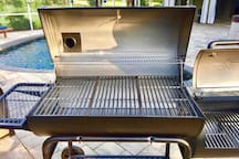 Smoker Grill may be used for an additional $20 cleaning fee upon request.