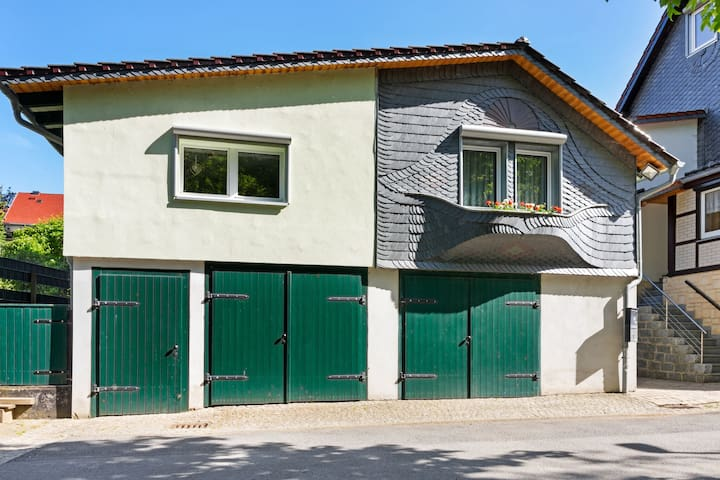 Cosy apartment in Rübeland in the Upper Harz with private entrance