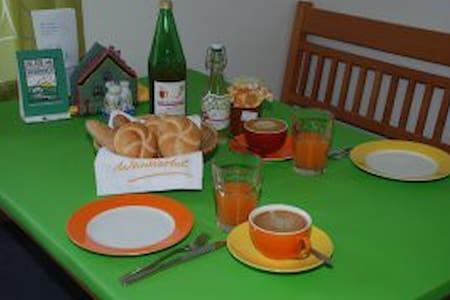 Sei unser Gast! Be my guest! - Wetzleinsdorf