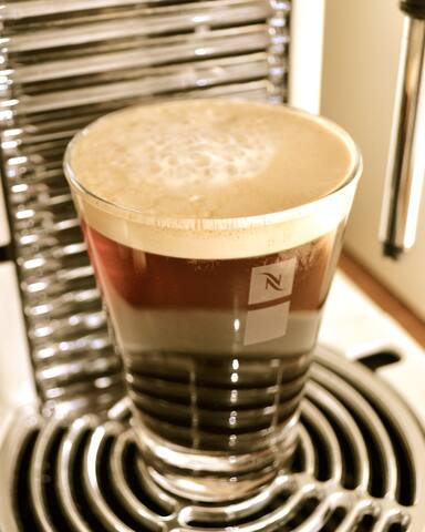 An Nespresso in the morning makes everybody...happy!