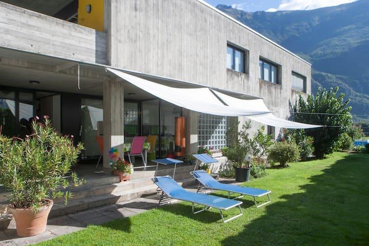 Chambre privée dans villa - Bellinzona nord