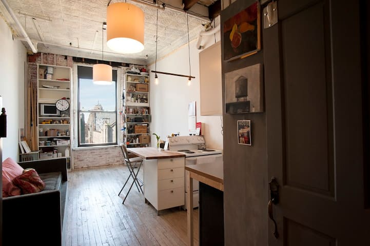 Bright Cozy Chinatown Studio Apt. - New York - Wohnung