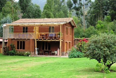Tranquility in the Sacred Valley.  - Lamay