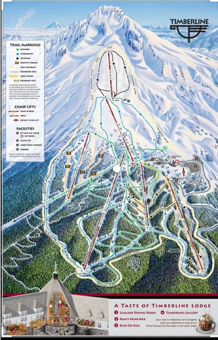 Ski resort, hiking and city lights waiting 4 you.