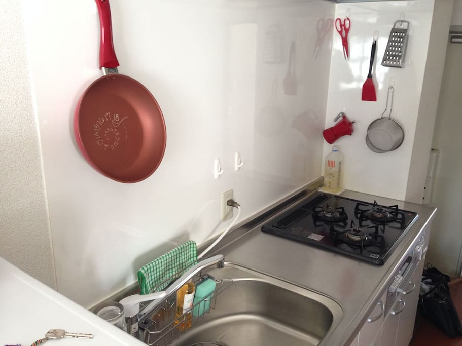benchtop for self catering:)