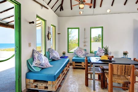 Casa Carola - Awesome Beach front  - Puerto Morelos - House