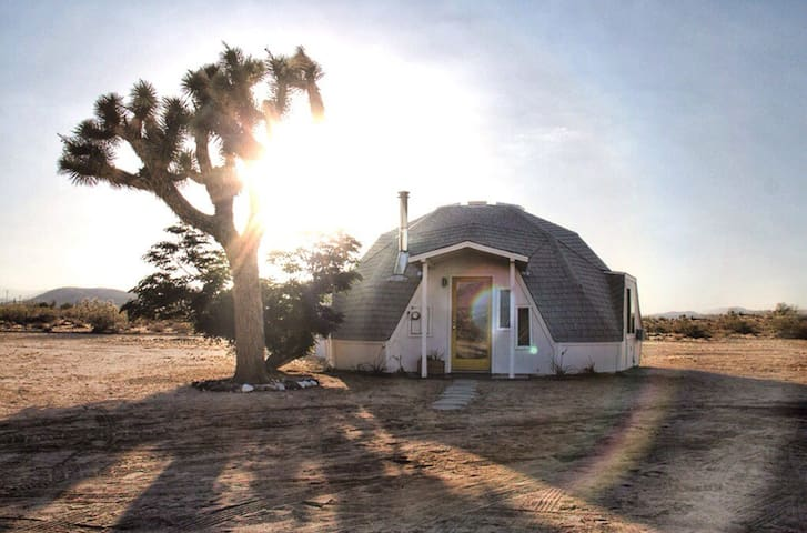 Dome in the Desert in Joshua Tree - Joshua Tree - House