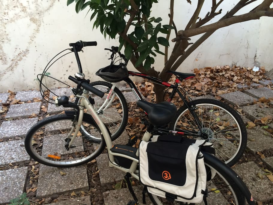 2 Free bikes available