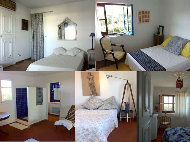 Casa estilo Ibizenco en la playa - Cullera - Villa