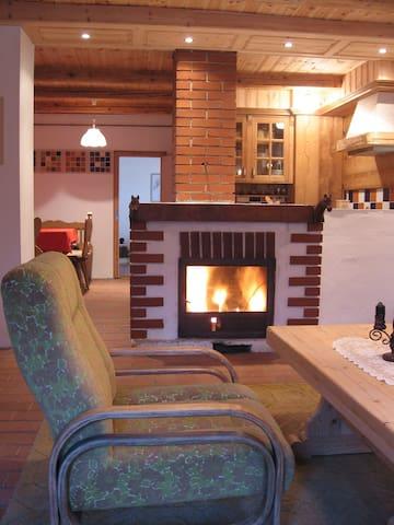 Kandallós vendégház a Bakonyalján - Ganna - Talo