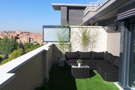 LUXURY PENTHOUSE +TERRACE+ POOL - Madrid - Apartemen