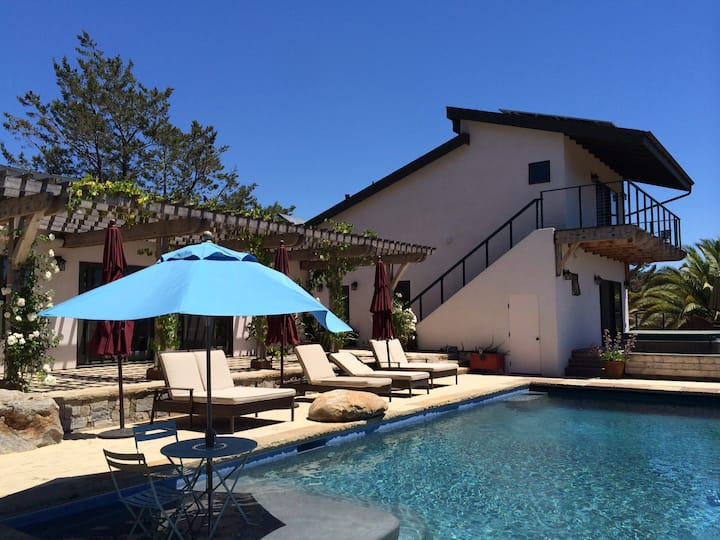 Newly Built Wine Country Cottages