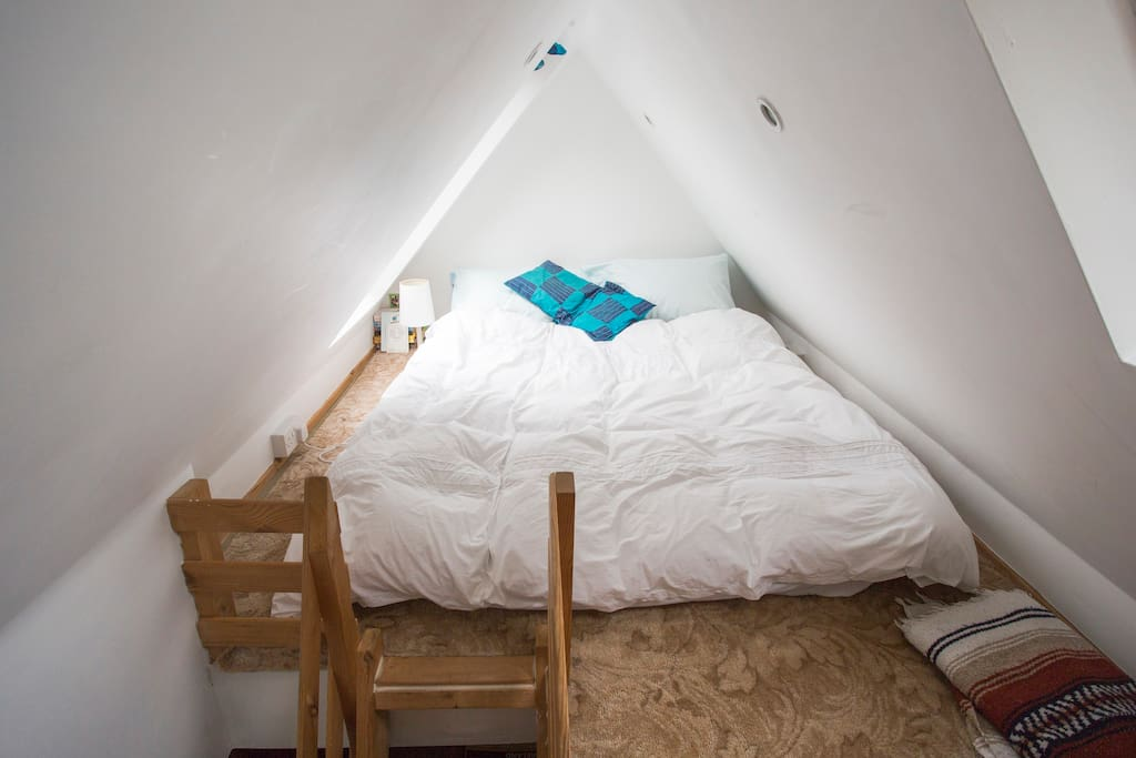 the cosy loft bedroom