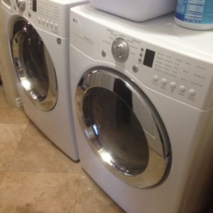 Available shared laundry room