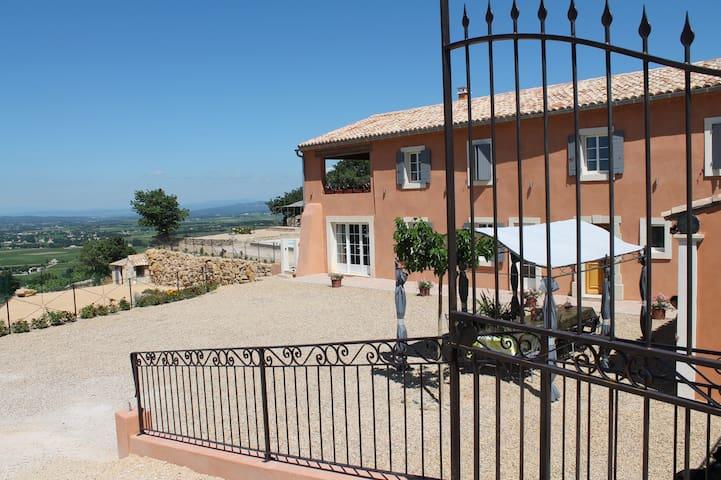 Mas neuf avec piscine chauffée pour 10 personnes - Sainte-Cécile-les-Vignes