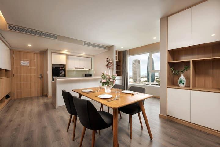 Căn hộ mới 19F | View cực đẹp | Zen Diamond Suites