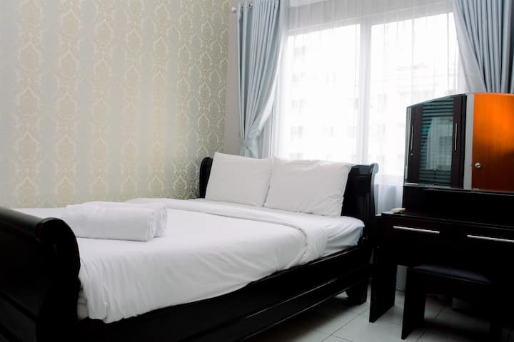 Modern Fully Furnished 2BR Sudirman Park Apartment