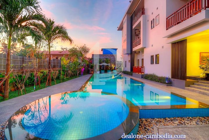 2 Bedrooms Apartment For Rent With Swimming Pool