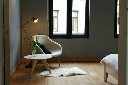 Tweepersoonskamer in stadswoning - Antwerpen - Huis