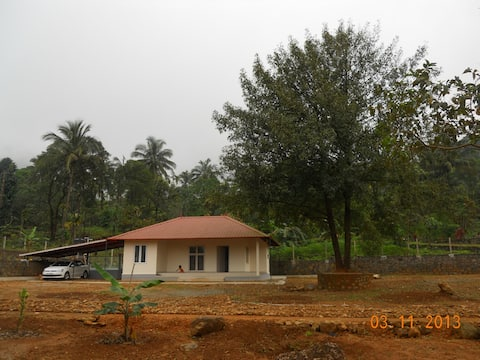 River side farm house