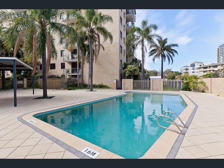 Riverview 2Brm Apt + Pool South Perth from $560pw!