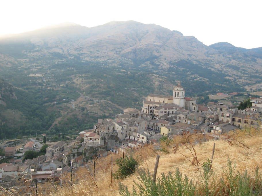 Petralia Sottana, heart of Madonie Mountains