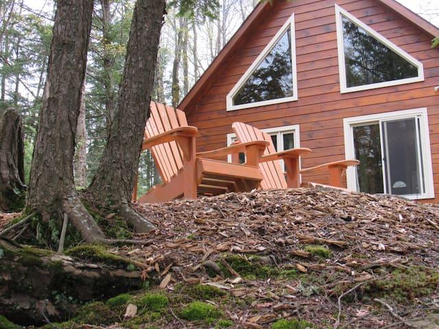 Lakefront Log Cabin Cottage Retreat - North Kawartha - Sommerhus/hytte