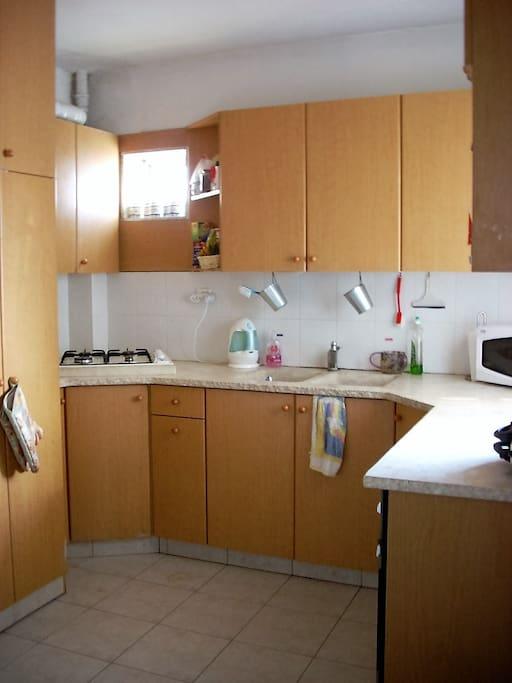 Fully stocked kosher kitchen