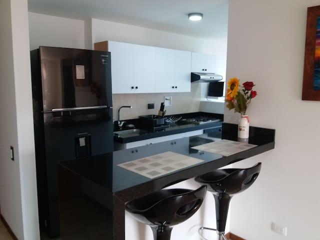 Confortable apartamento, moderno y bien ubicado