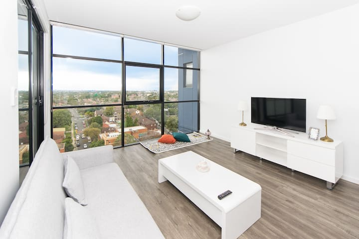 Luxury 2 Bedrooms with Stunning View BUR1111 - Burwood - Daire