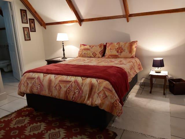 Room 3, top floor, double bed
