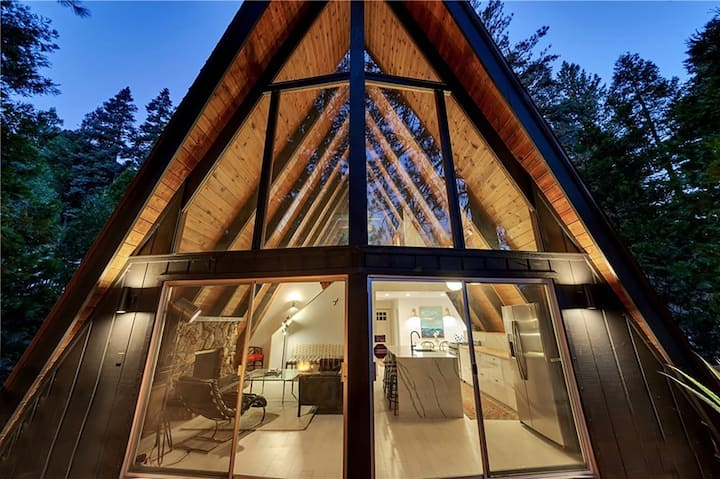 The Love Shack // Modern and Magical A-Frame