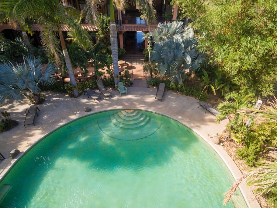 Exclusive pool access for Condo guests only. Nearly private. Cleaned daily.