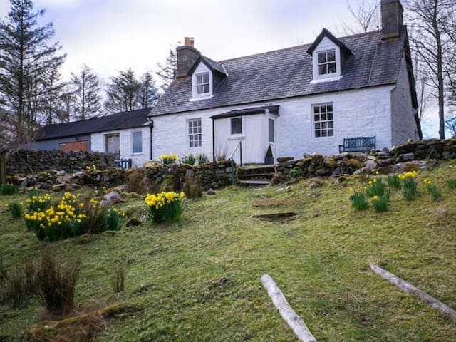 OLD GRUMBEG COTTAGE, with open fire in Bettyhill , Ref 945345