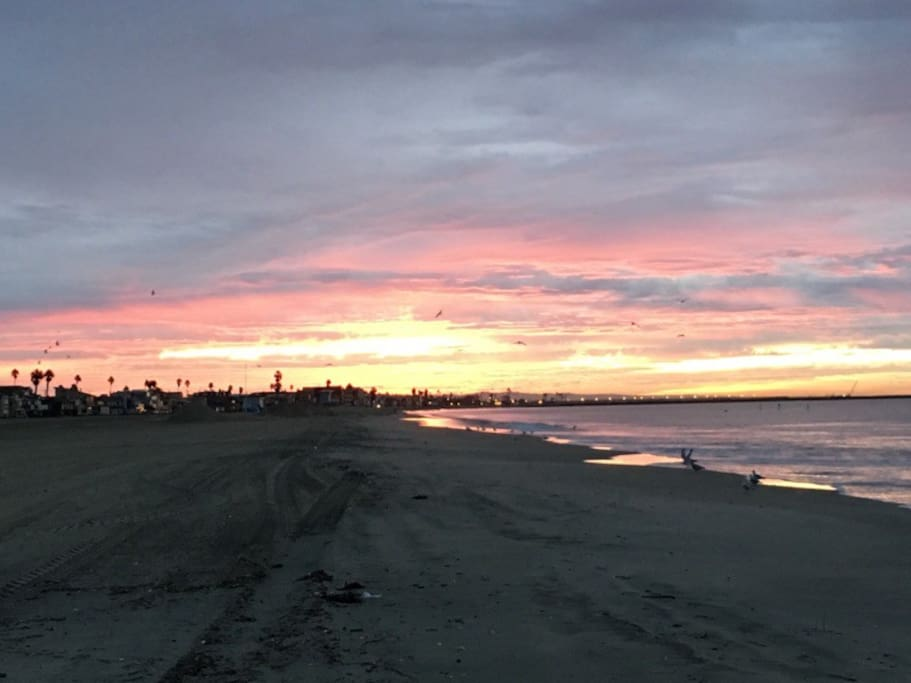 The Beach right across the street...