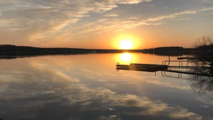 Lakehouse on Amon Carter Lake