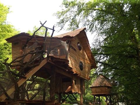 Cabane perchée A l'Orée