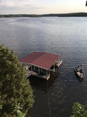 WHATAVIEW Lakehouse and Dock on Tims Ford Lake - Winchester - Hus