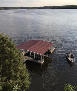 WHATAVIEW Lakehouse and Dock on Tims Ford Lake