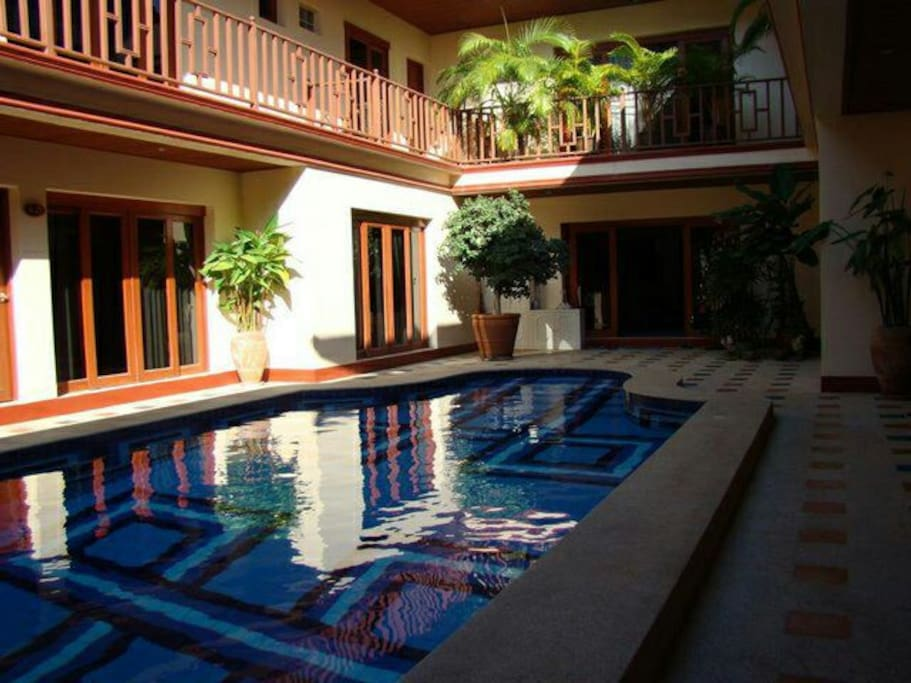 Malee House swimming pool