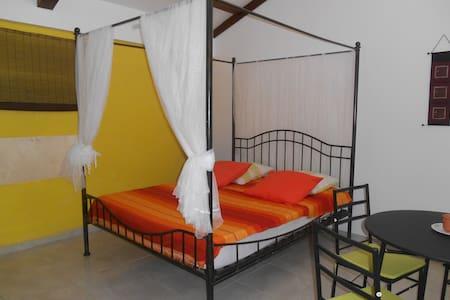 studio avec terrasse et jardin, route de Bologne - Basse-Terre - Bungalow
